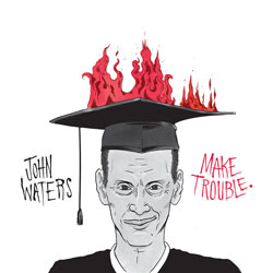 John Waters Make Trouble vinyl record