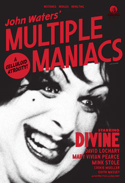 John Waters Multiple Maniacs DVD